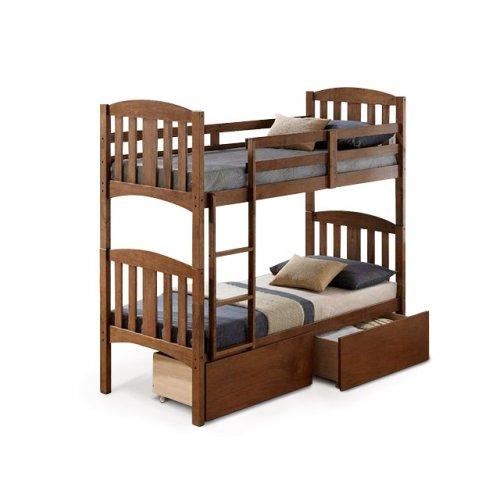 Двухъярусная кровать Мальвина 80х190