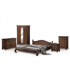 Кровать Жизель 180х200 + две тумбы
