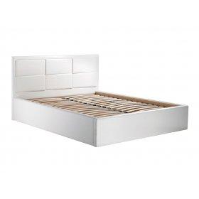 Кровать с подъемным механизмом Парма 1,6 КЗ белый
