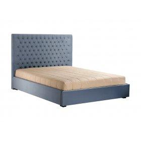 Кровать с подъемным механизмом 1,6 Олимпия (светло серый) (Миссони 9016-030)