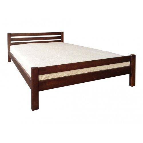 Кровать Элегант орех темный 120х200