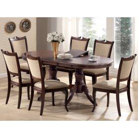 Комплект стол Анжелика 150+6 стульев Николь
