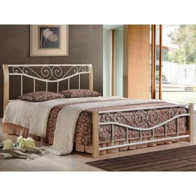 Кровать Ленора крем 160х200