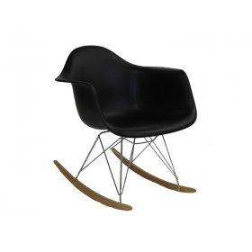 Кресло Лаунж черное