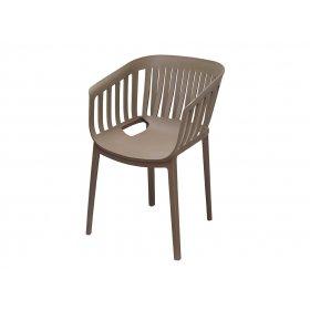 Кресло Патио пластик серый