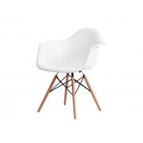 Кресло Прайз пластик белый