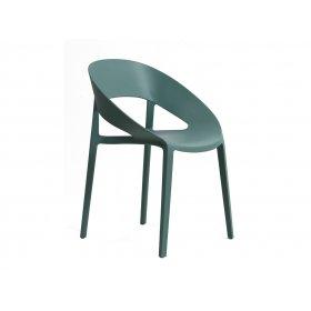 Кресло Шелл пластик виридиан