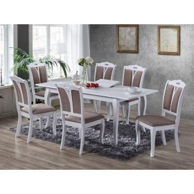 Комплект стол Калипсо+6 стульев Мира