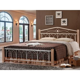 Кровать Миранда 160х200 крем