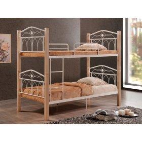 Двухъярусная кровать Миранда крем 90х200