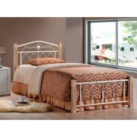 Кровать Миранда 90х200 крем