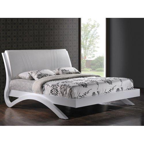 Кровать Эвита 160х200  (белый глянец)