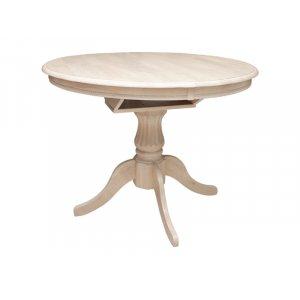 Стол Анжелика V (1м) крем 106(+33)х106х75 см