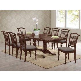 Комплект стол Палермо + 8 стульев Палермо орех итальянский
