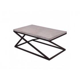 Журнальный столик Z с бетоном