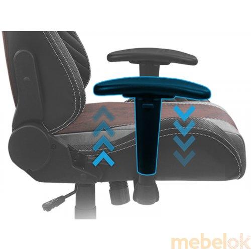 Кресло для геймеров AEROCOOL BARON Iron Black