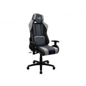 Кресло для геймеров AEROCOOL BARON Steel Blue