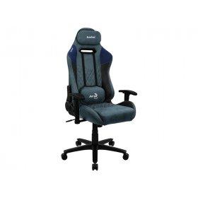 Кресло для геймеров AEROCOOL DUKE Steel Blue