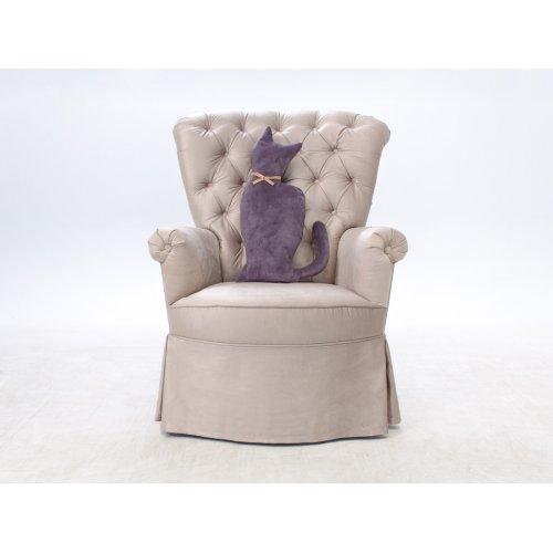 Подушка-игрушка Кошка Грей-велюр 30х50