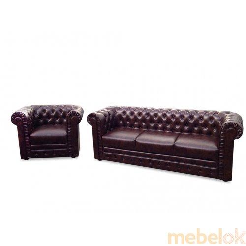 Комплект мягкой мебели Честер