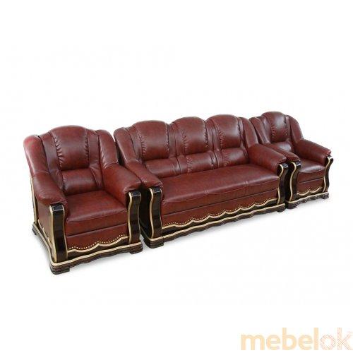 Комплект мягкой мебели Кардинал