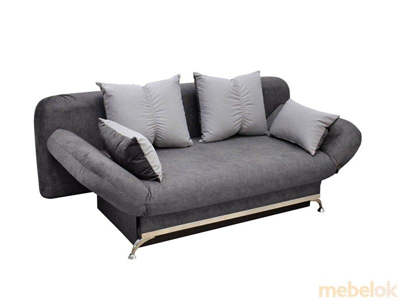 Диван Маэстро 1 серый от фабрики Элегант мебель