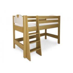 Кровать ярусная с лестницей Эльф 90х200