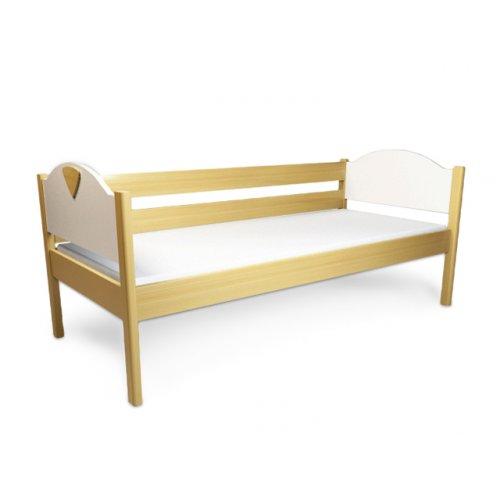Кровать подростковая с ограждением Эльф 90х200