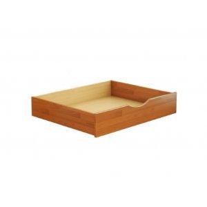 Ящик (деревянные боковины) с фасадом из щита бука (2019)