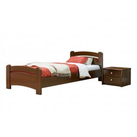 Кровать Венеция 80х190 из массива бука