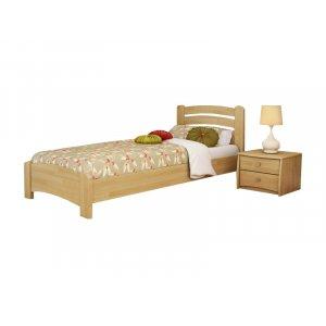 Кровать Венеция Люкс 90х190 из щита бука