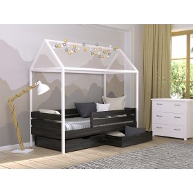 Кровать Амми 80х190 из щита бука