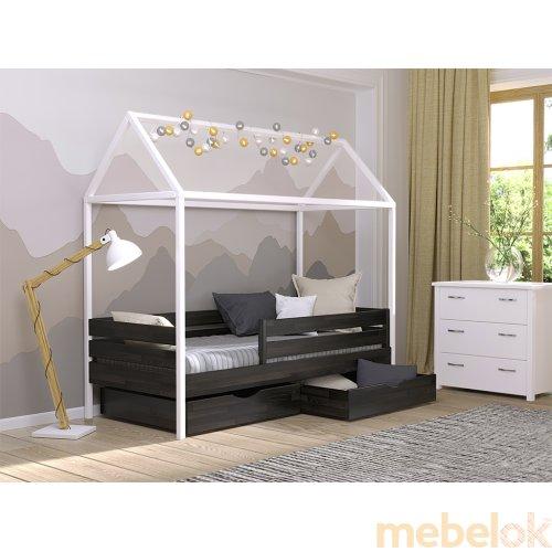 Кровать Амми 90x190 из щита бука