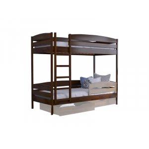 Двухъярусная кровать Дуэт Плюс 80х190 из щита бука