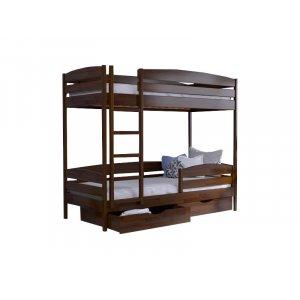 Кровать Дует Плюс 90х190 из массива бука
