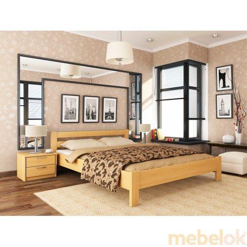Деревянная кровать Рената 160х200