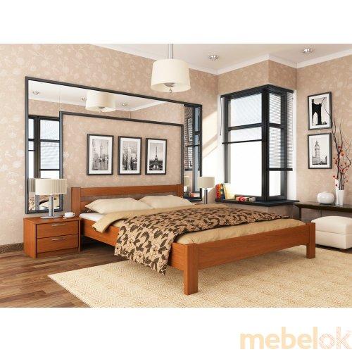 Деревянная кровать Рената 120х200