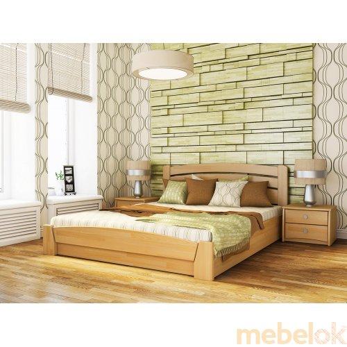 Кровать Селена-Аури + ортопедический матрас Бонель 180х190