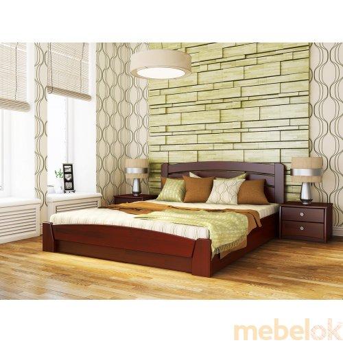 Кровать Селена-Аури + ортопедический матрас Бонель 180х200