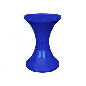 Табурет пластиковый синий