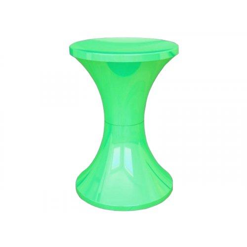 Табурет пластиковый зелёный