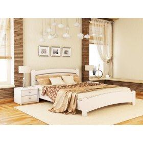 Кровать Венеция люкс 180х190 из щита бука