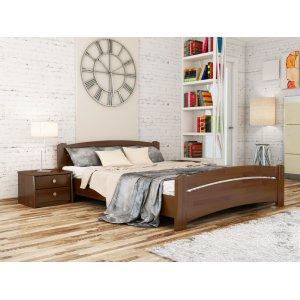 Кровать Венеция люкс 120х190 из щита бука