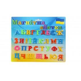 Магнитный набор Алфавит украинский