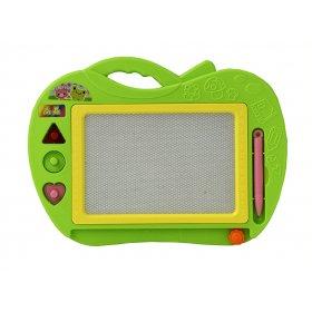 Детская магнитная доска Яблоко Green
