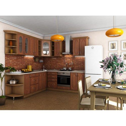 Кухня Сансет вишня Форема (2,3х2,3 м)