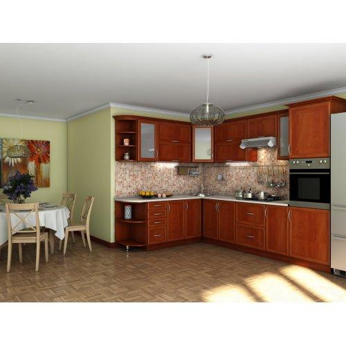 Кухня Контур яблоня (2,1х3,0 м)