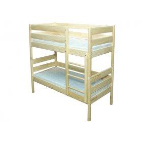 Детская двухъярусная кровать (сосна)