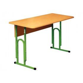 Стол ученический 2-местный без полочки №1-3