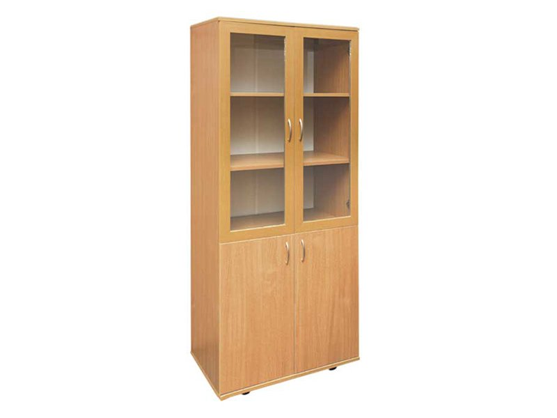Фото шкаф книжный со стеклянными дверцами. фото стеллажи, пе.